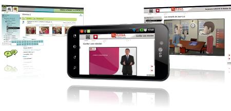 screenshots open-elearning e-learning, m-learning et 3D