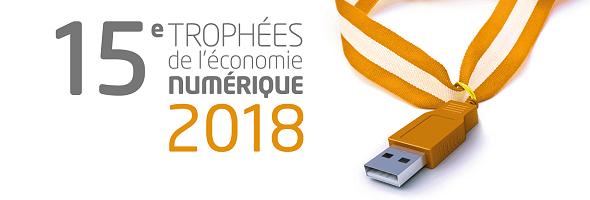 15ème édition des Trophées de l'Économie Numérique dans la catégorie Transition énergétique et technologies vertes
