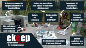 Projet ekeep pour équiper éthiquement les écoles primaires