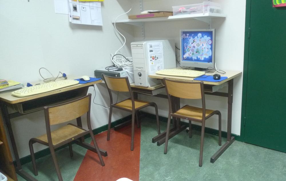 Les ordinateurs à l'école